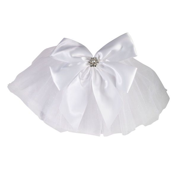 Lillian Rose Bachelorette Party White Bikini Veil